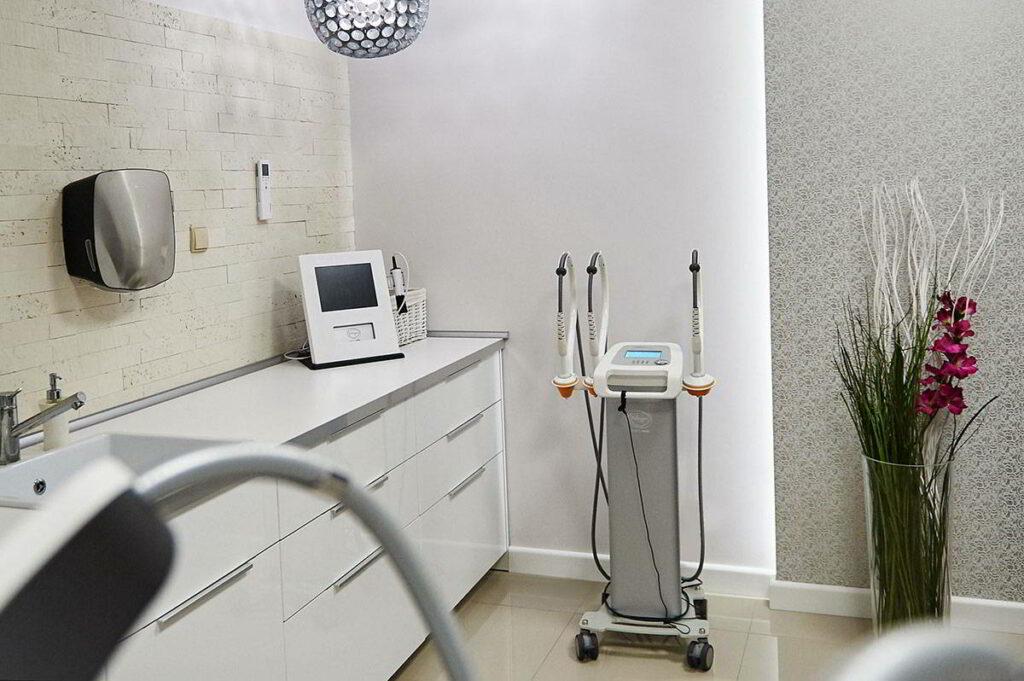 Wyposażenie salonu zabiegowego