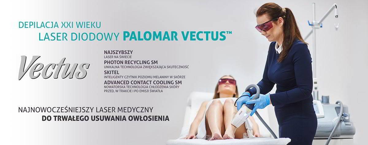Vectus, najnowocześniejszy laser medyczny do trwałego usuwania owłosienia