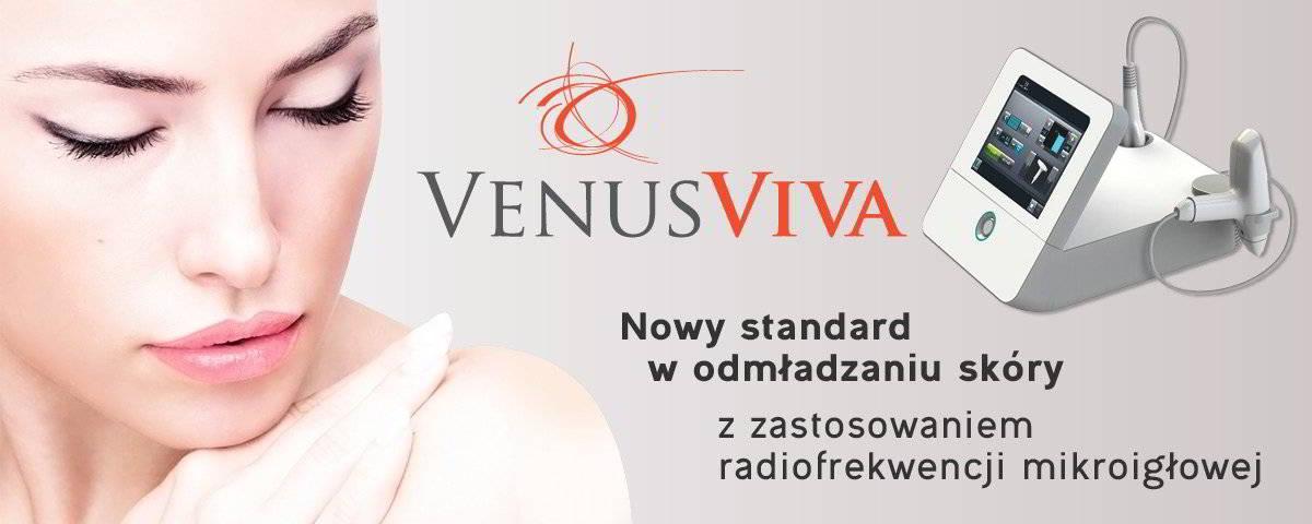 Venus Viva, nowy standard w odmładzaniu skóry z zastosowaniem radiofrekwencji mikroigłowej
