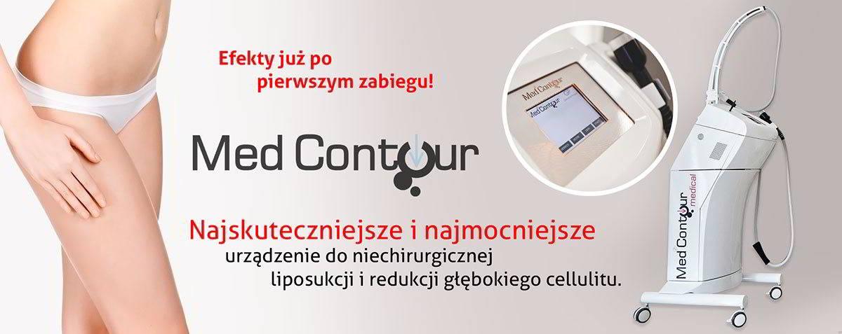Med Contour, urządzenie do niechirurgicznej liposukcji i redukcji głębokiego cellulitu