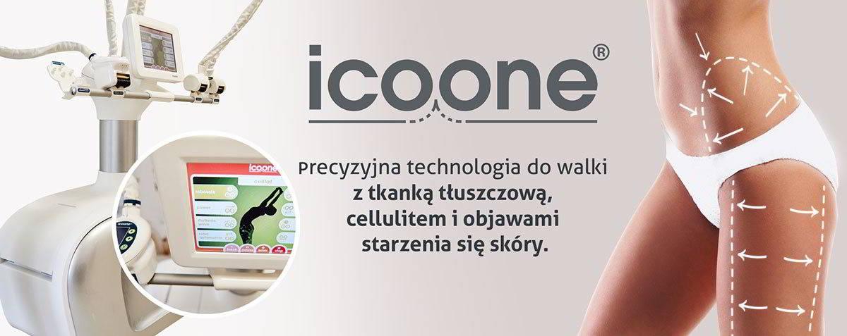 Icoone, precyzyjna technologia do walki z tkanką tłuszczową, cellulitem i objawami starzenia się skóry