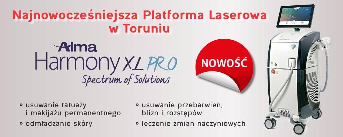 Alma Harmony XL pro - najnowocześniejsza platforma laserowa w Toruniu