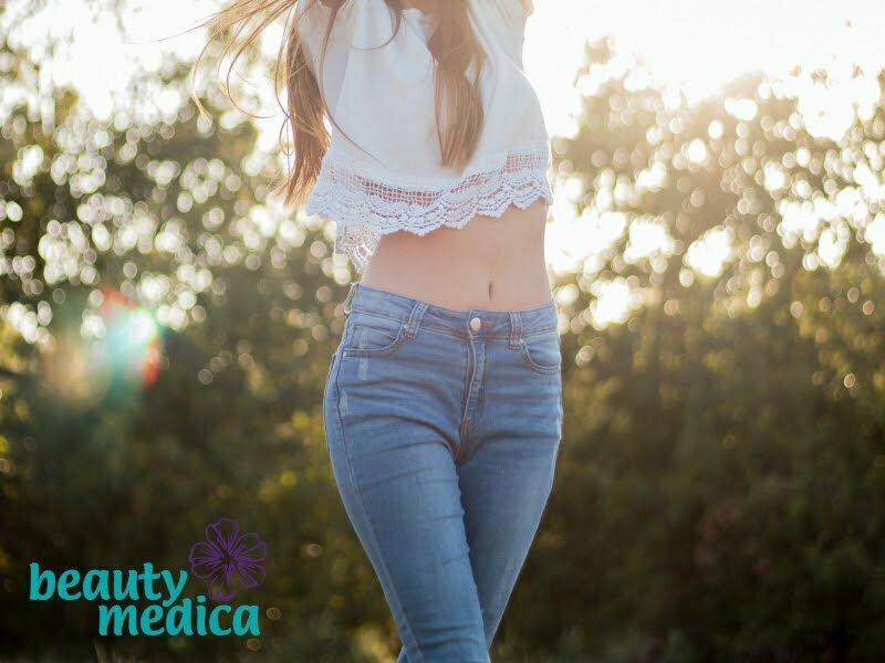 Skuteczna redukcja cellulitu i opornego tłuszczu.