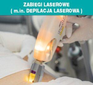 Zabiegi laserowe i depilacja