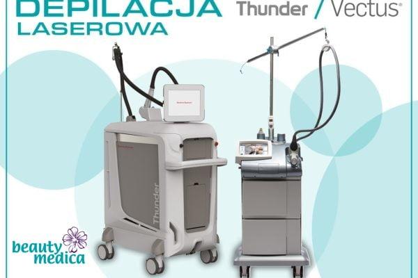 thunder vectus depilacja laserowa
